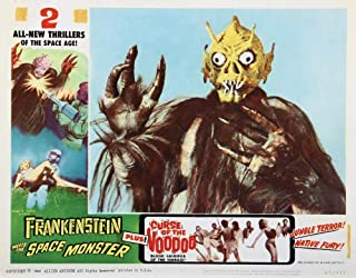 Best frankenstein meets the space monster poster Reviews