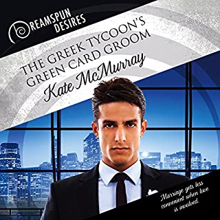 The Greek Tycoon's Green Card Groom audiobook cover art