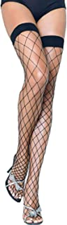 Leg Avenue Women's Fence Net Thigh-high