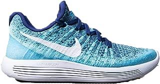 Women's Lunarepic Low Flyknit 2 Running Shoe (6.5, Binary Blue/White)