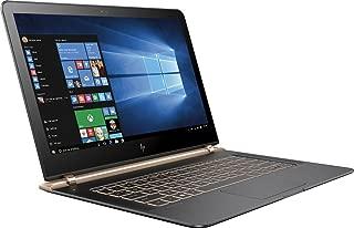HP Spectre 13-V011DX 13.3in FHD IPS Laptop Intel Core i7-6500U 256GB SSD 8GB DDR3L Windows 10 - Black/Copper (Renewed)