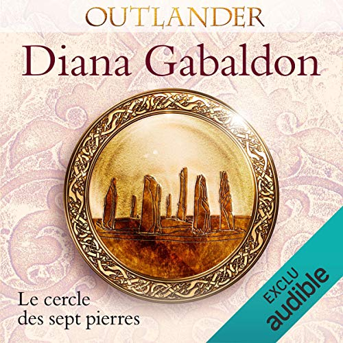 Le cercle des sept pierres audiobook cover art
