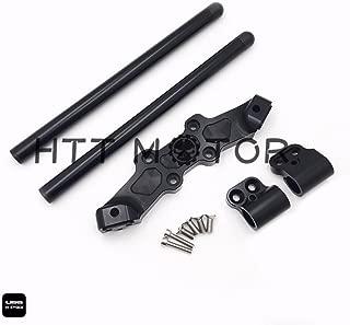 SMT MOTO- For DUCATI Monster 696/796/1100 CLIPON ADAPTER PLATE & Handlebar Kit CNC Black