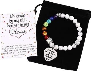 rainbow bridge pet memorial bracelet