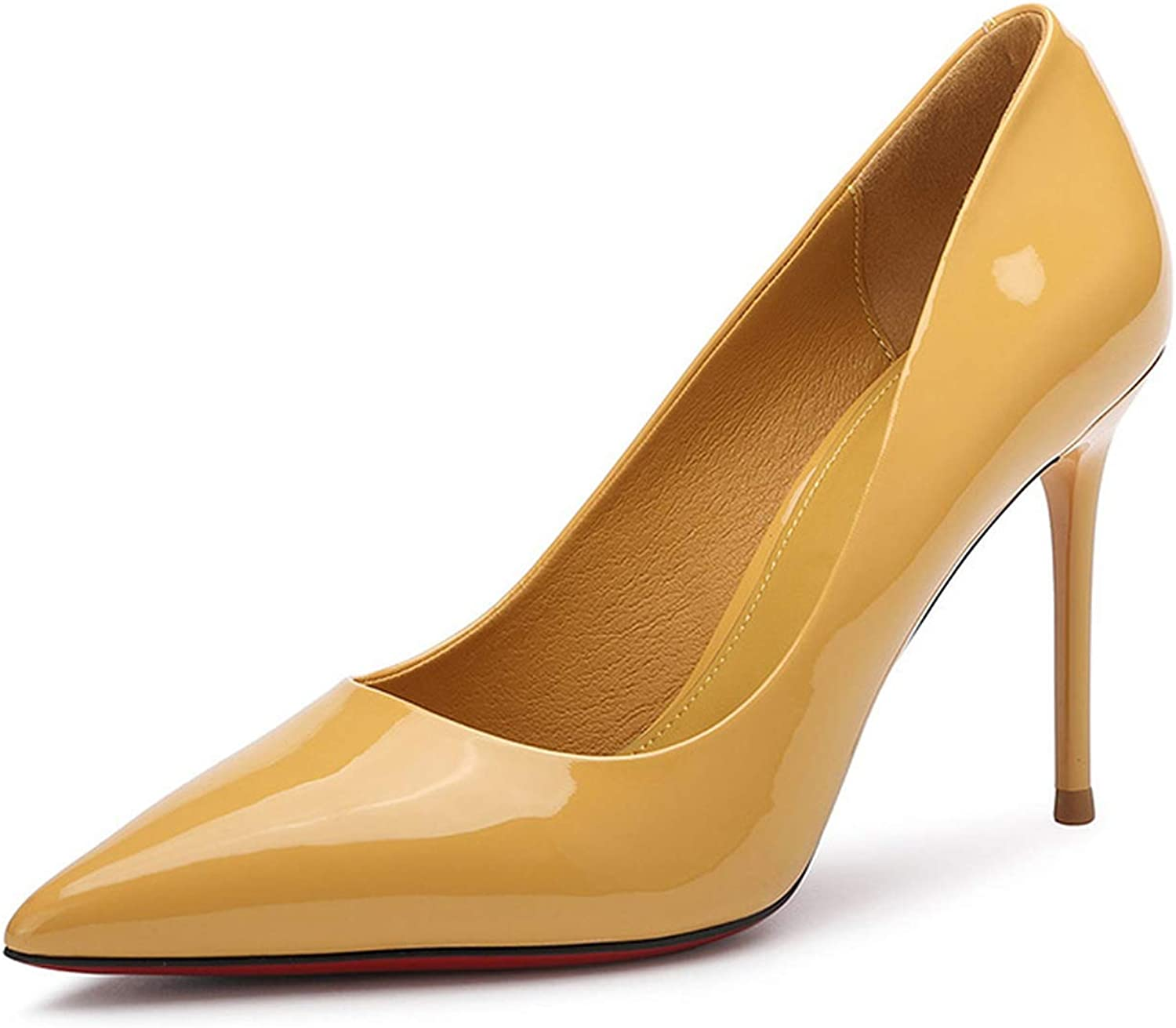 Super High Thin Heel Women Pumps Leather shoes Women High Heels Woman Party shoes