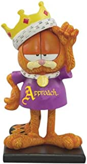 WL 5.5 Inch Approach The King Garfield Collectible Figurine Statue