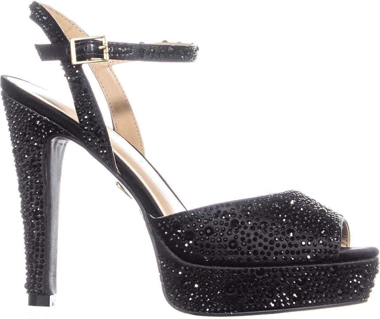 Thalia Sodi kvinnor Bridgetf Open Toe Ankle Strap Strap Strap Classic Pump  spara 35% - 70% rabatt