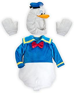 Disney Store Donald Duck Deluxe Plush Halloween Costume Size XXS 3/3T/3 Years