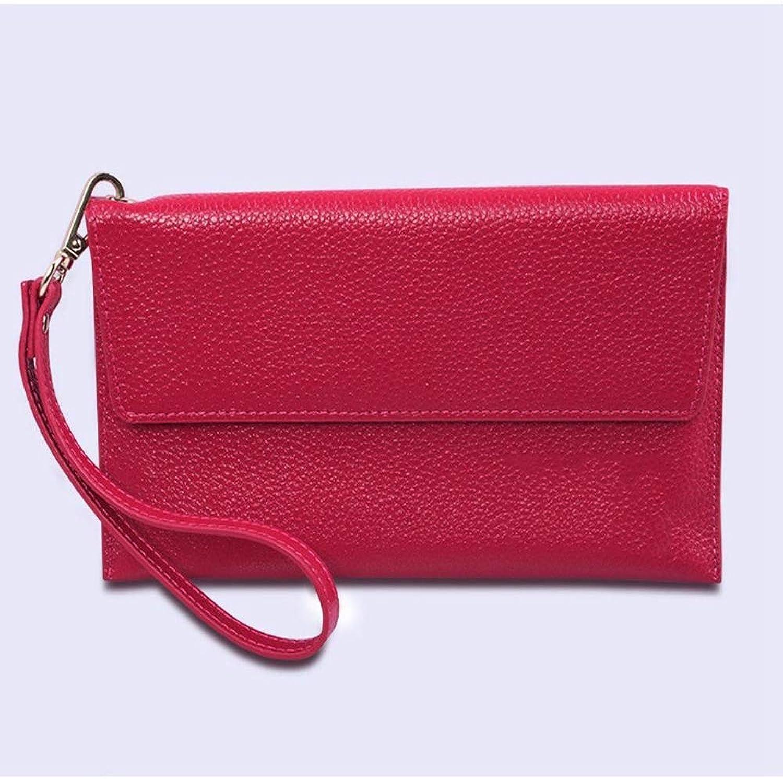 ZhiGe Women's Wallet,Lady's Leather Wallet Large Capacity Slim Hand Bag 20  0.3  11.5cm
