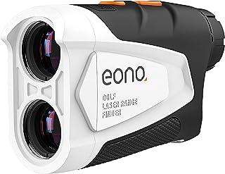 Amazon-merk - Eono Range Finder Golf, 600 M Golfafstandsmeter met hellingscompensatie, vlagslot, scanmodus, horizontale af...