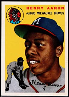 Baseball MLB 1994 Topps Archives 1954#128 Hank Aaron Braves