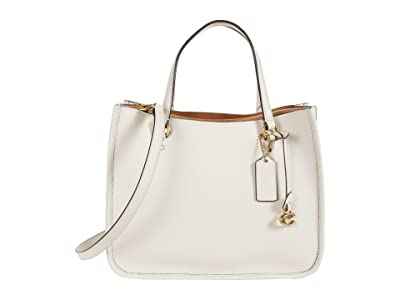 COACH Polished Pebble Leather Tyler Carryall 28