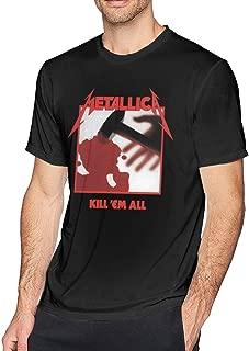 Mens Particular Metallica Kill Em All Tshirts Black