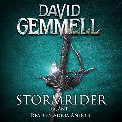 Stormrider audiobook cover art