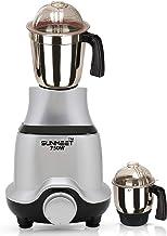 Sunmeet BUTSLV21 750-Watt Mixer Grinder with 2 Jars -1 Wet Jar and 1 Chutney Jar, Silver