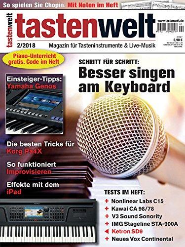 Tastenwelt - Schritt für Schritt Besser singen am Keyboard / Yamaha Genos Tipps