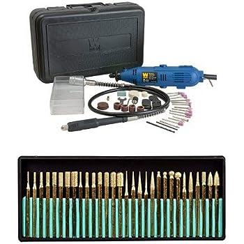 WEN 2305 Rotary Tool Kit with Flex Shaft Multi
