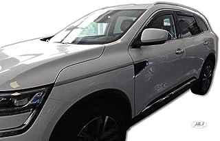 Chrome Vent Déflecteurs Set 5 portes 6 Pièces Pour Renault Koleos 2016