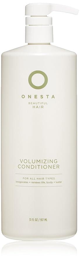 特異性上下するすみませんOnesta Hair Care Onestaボリュームアップコンディショナー、31液量オンス 31オンス