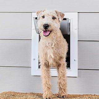PetSafe ZPA00-16202 Wall Entry Pet Door, Medium, White