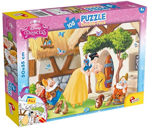 Lisciani Puzzle Double Face Plus Blancanieves 108