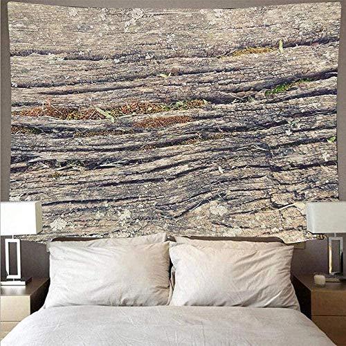 DGSJH Tapiz Impresión 3D Textura de tablón de madera retro Tapiz barato Tapiz de arte Psicodélico Colgante de pared Toalla de playa Decoración Manta fina Yoga 70x100cm