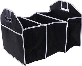Swarim Folding Collapsible Sturdy Robust Car Storage Box Car Boot Organiser Shopping Tidy Collapsible Space Saving Storage Box Car Boot Organizer(SM54)