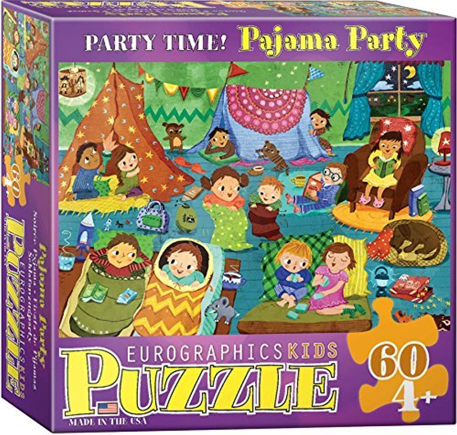 Party Time Pajama 60 Piece Puzzle by EuroGraphics