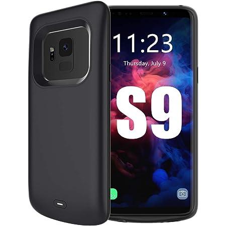 6000mAh Funda Cargador Portatil Carga Rapida Carcasa Bater/ía Recargable Bater/ía Externa para S9 Trswyop Funda Bater/ía para Samsung Galaxy S9 5,8 Pulgadas