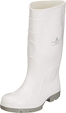 Delta Plus Boots���Boot Safety Viens PVC Nitrile White Size 40