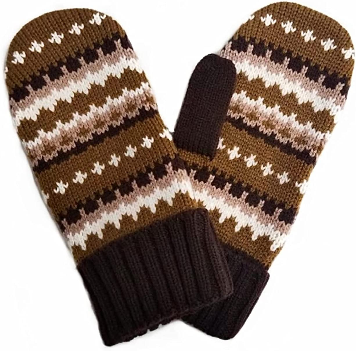 Bernie Sanders Inspired Handcraft Knit Mittens Inauguration Day - Cozy Wool Knit Thick Gloves Novelty Crochet Winter Mittens - Bernie Costume
