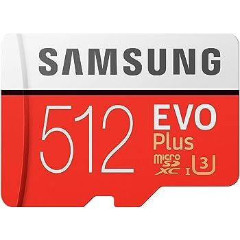 Samsung Memory MB-MC512GA 512 GB Evo Plus Micro SD Card with Adapter