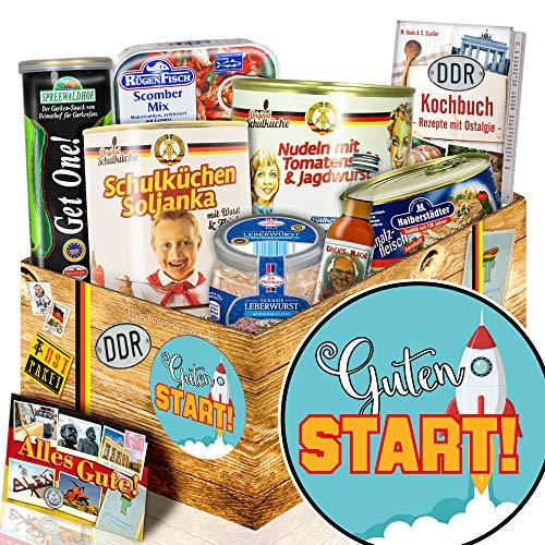Guten Start + Geschenke zum Start ins Berufsleben + Ostprodukte Paket