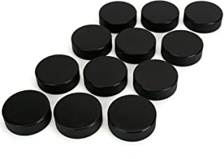 Faswin 12 Pack Classic Ice Hockey Puck with 2 Reusable Mesh Bag