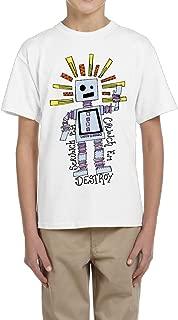 Mr. Roboto Boys Graphic T-Shirt Top White