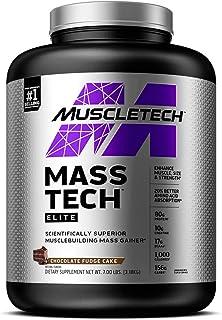 Mass Gainer Protein Powder   MuscleTech Mass-Tech Elite Mass Gainer   Whey Protein Powder + Muscle Builder   Weight Gainer...