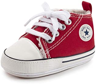 Kids Children Canvas Plimsolls High Top Casual PE Trainers Ankle School Shoes