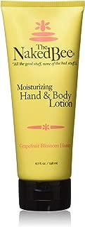 The Naked Bee Moisturizing Hand & Body Lotion, 6.7 Fl Oz, Grapefruit Blossom Honey