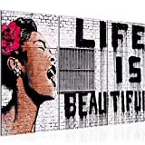 Runa Art Banksy Life is Beautiful Bild Wandbilder