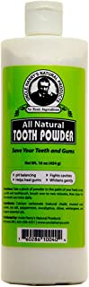 Uncle Harry's All Natural Tooth Powder, 16oz