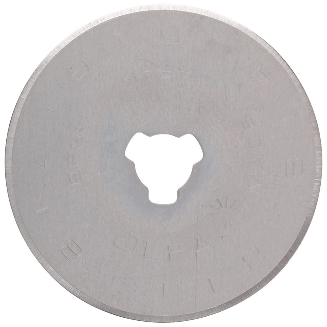 PRYM/OLFA 611373 Spare blades STANDARD for rotary cutters Size 28mm, 2 pieces
