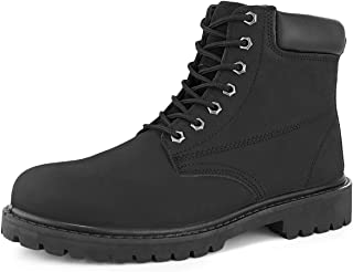 Men's Steel Toe Safety Waterproof Leather Work Boot