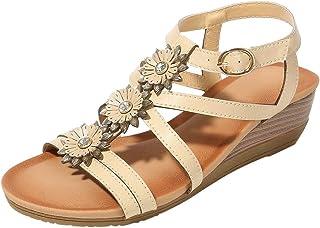 NEU Damen Schuhe Wedges Sandalen in ÜBERGRÖßEN 41-44 Riemchen Peep-Toes Glitzer