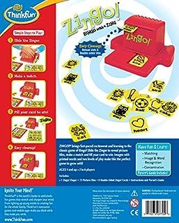 عروض ThinkFun Zingo Bingo Award Winning Preschool Game for Pre-Readers and Early Readers Age 4 and Up - One of the Most Popular Board Games for Boys and Girls and their Parents, Amazon Exclusive Version