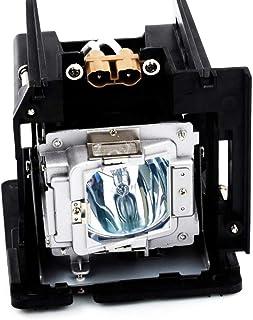 Molgoc BL-FP370A - Lampadina di ricambio per proiettore con alloggiamento per OPTOMA EH505, W505 e X605