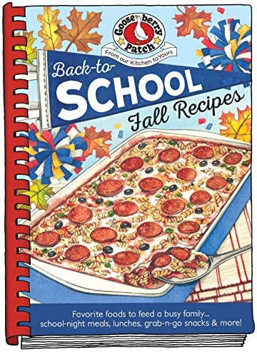 Back To School Fall Recipes Seasonal Cookbook Collection product image