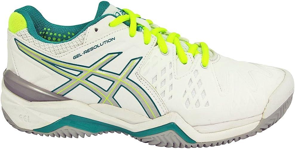 ASICS Gel Resolution 6 Chaussures de Tennis Femme