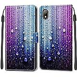 YKTO Etui en PU Cuir Coque pour Huawei Y5 2019/Honor 8S Flip Folio Housse Magnétique Goutte d'eau...