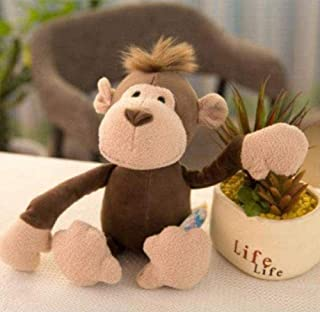 NC83 Plush Toy Monkey Tiger Lion Giraffe Plush Toy Plush Animal Doll Child Small 25 cm Pillow Toy Entertainment Decoration...