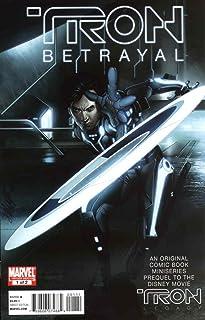 Tron: Betrayal #1 VF/NM ; Marvel comic book